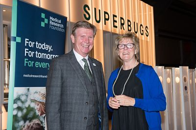 Prof Nick Lemoine, Chair, Medical Research Foundation and Prof Dame Sally Davies, CMO